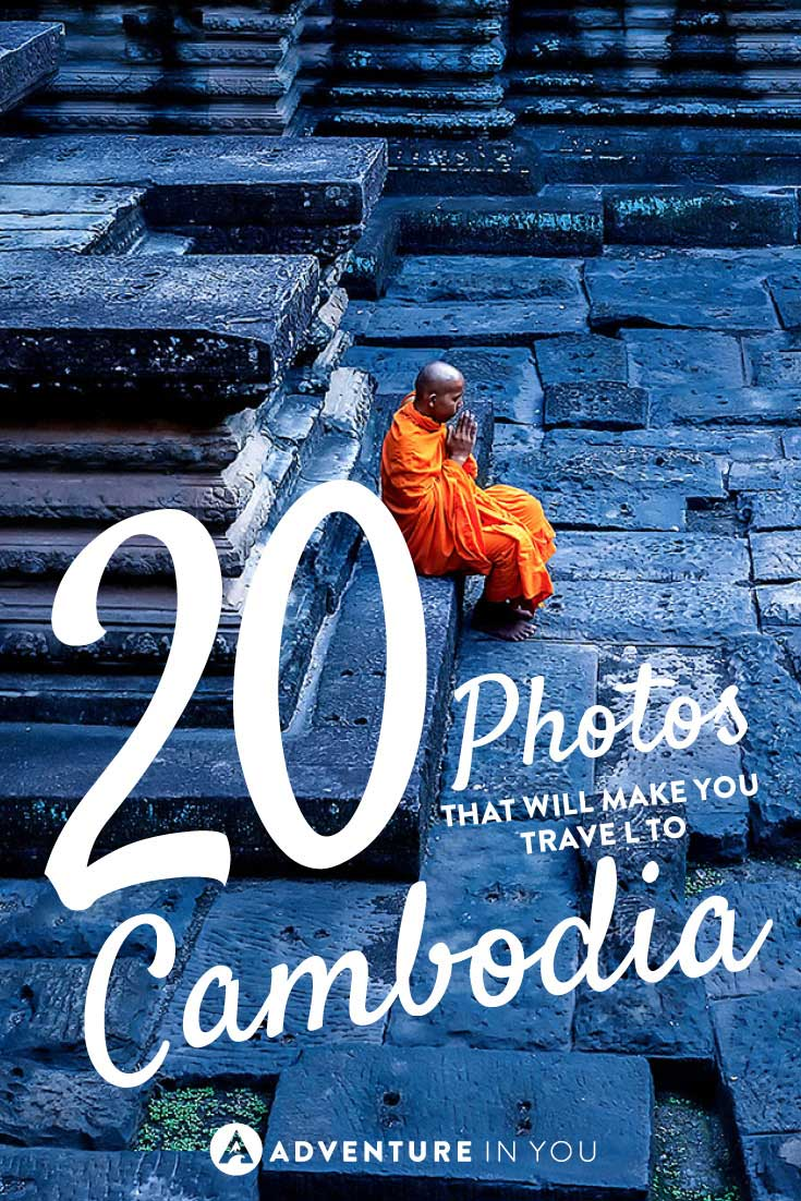 Planning a trip to Southeast Asia? Here are 20 photos that will make you want to pack your bags and head to Cambodia. Between the stunning temples of Angkor Wat to the many historical landmarks, Cambodia is a beautiful country.