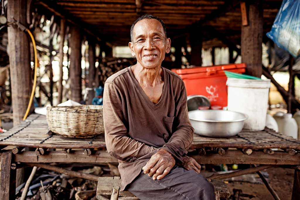 Photo of cambodian man