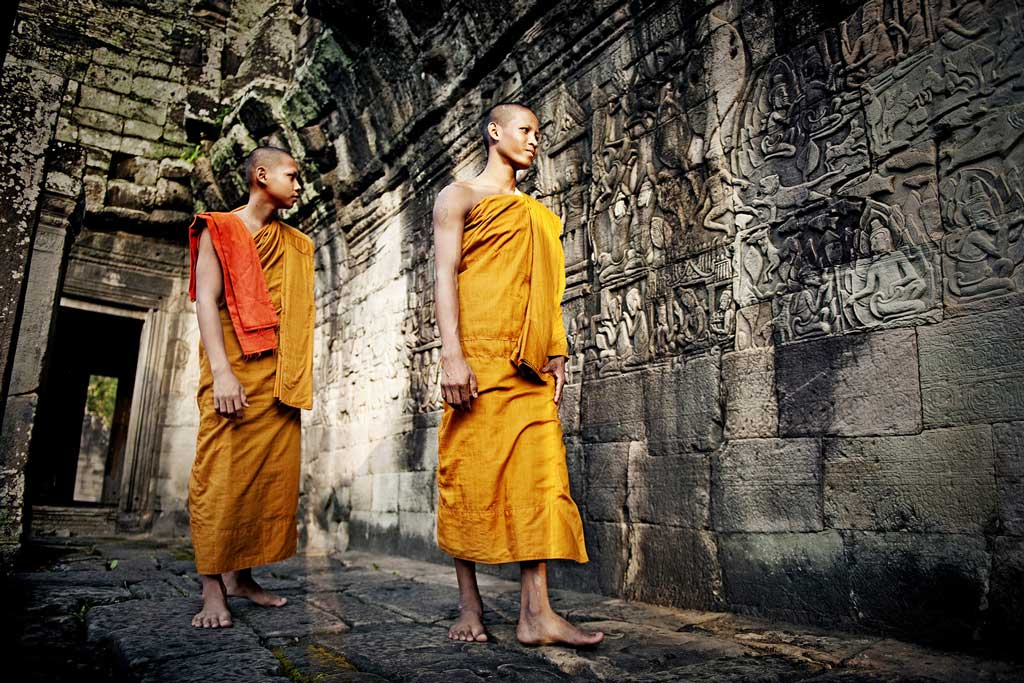Photo of monks