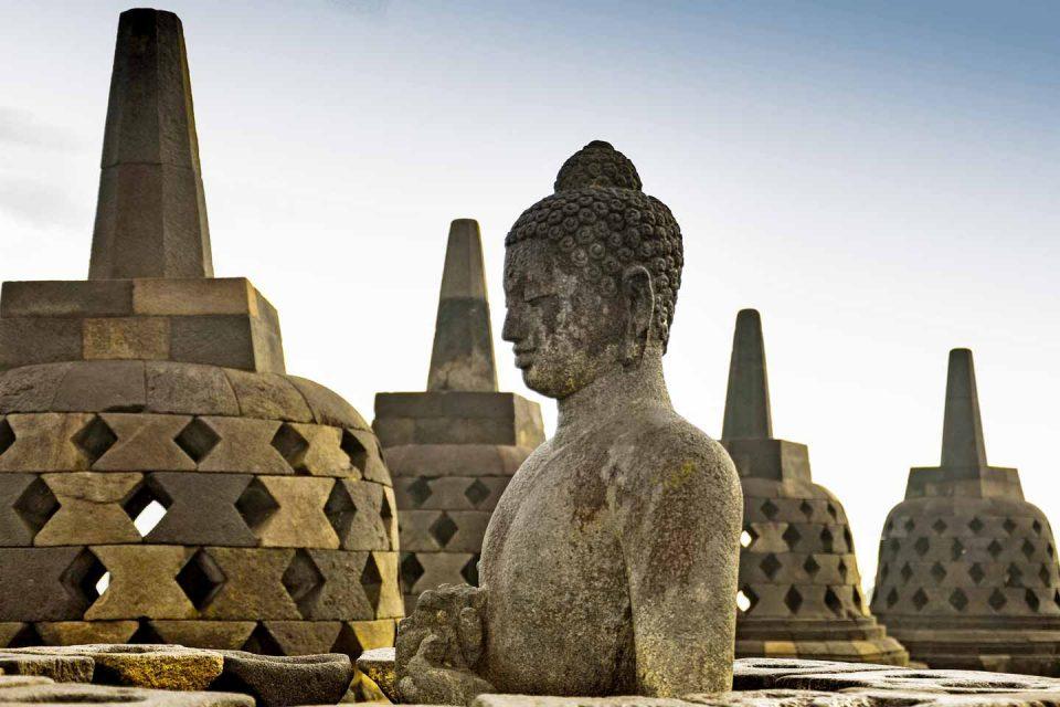 Borubodur temple java