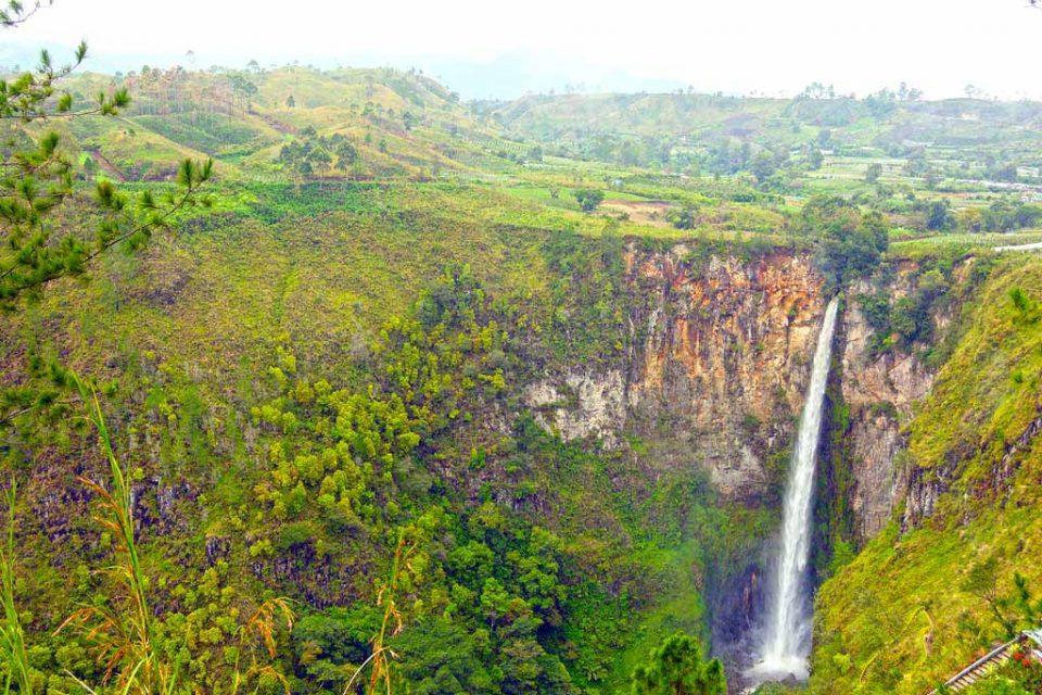 Sumatra waterfalls