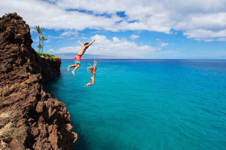 insurance cliff jumping