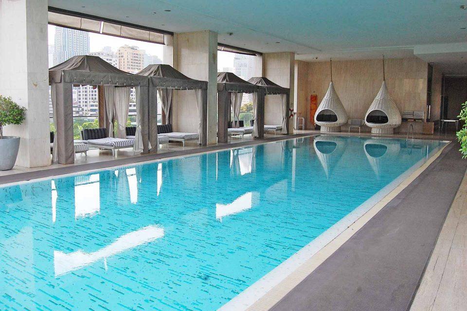 oriental poolside