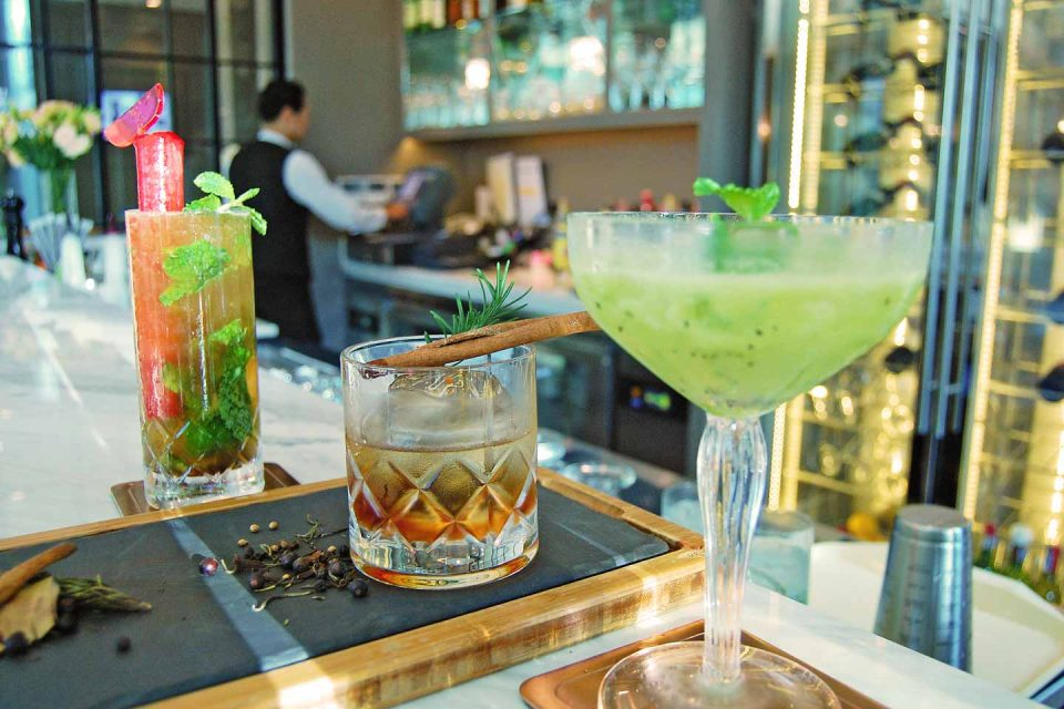 oriental residence cocktails