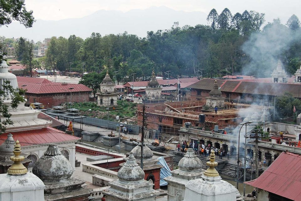Pashupatinath Temple cremation