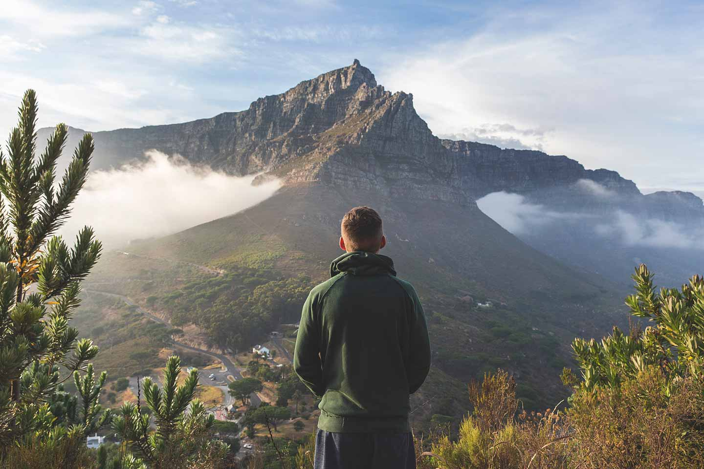 south africa mountain top