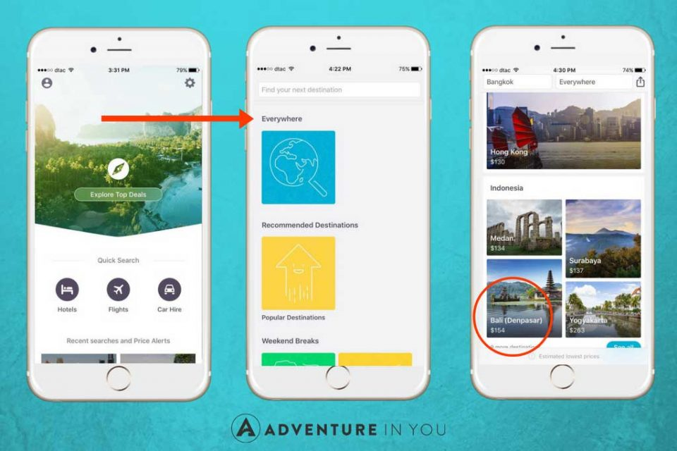 skyscanner app review