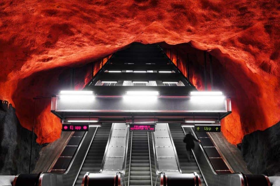 sweden-escalator