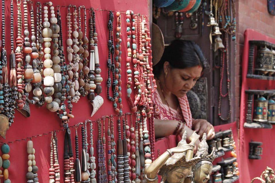 trinkets lady nepal