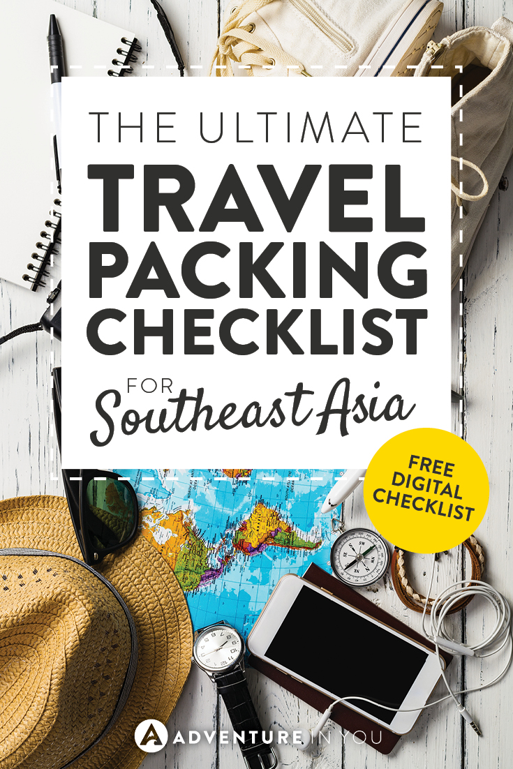 Packing List | Looking for a packing list for traveling Southeast Asia? Check out our article which includes a free digital checklist for you to use!
