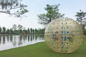 zorbing in chiang mai thailand