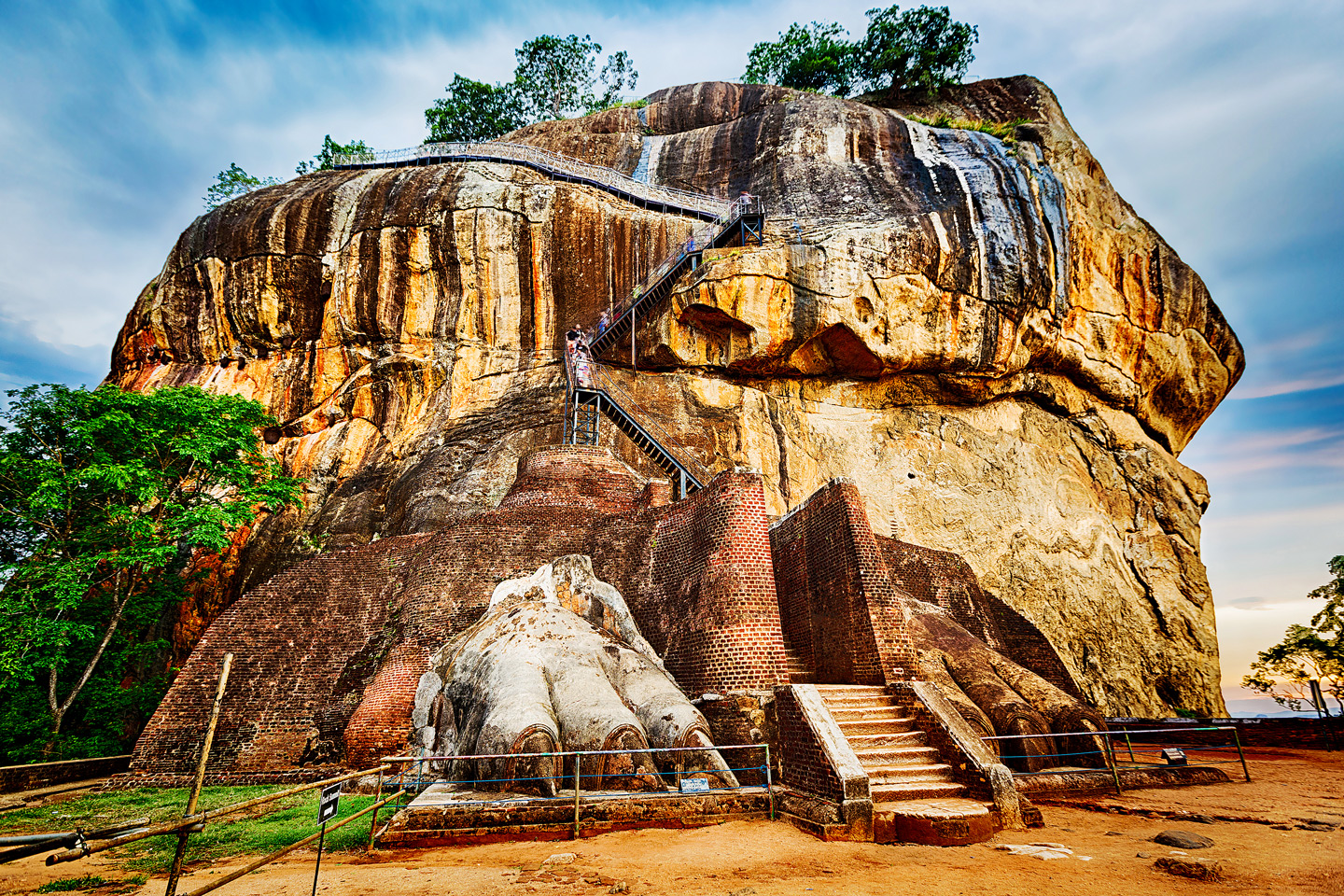 World Heritage Site Sgiriya or Lion rock, Sri Lanka