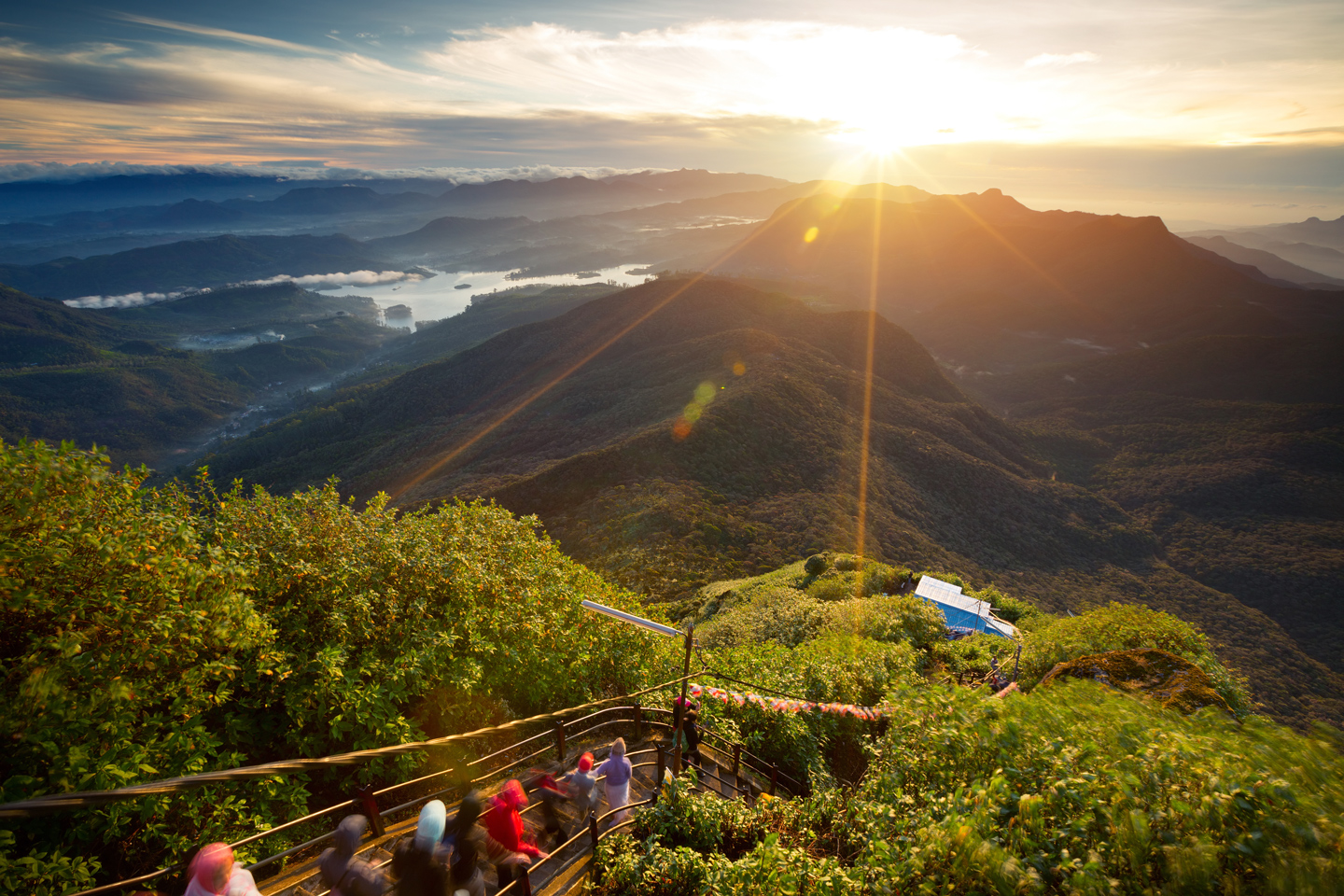 View from Adam's peak, Sri Lanka