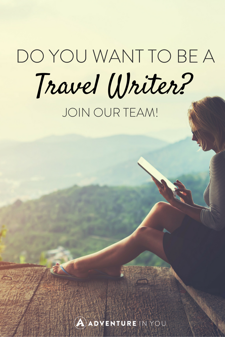 Calling out all awesome writers!!! Do you have a way with words? Can you make people laugh, cry, and shudder in fear (preferably all at the same time) through your words? Find out how you can become a contributing writer or become an adventure junkie!