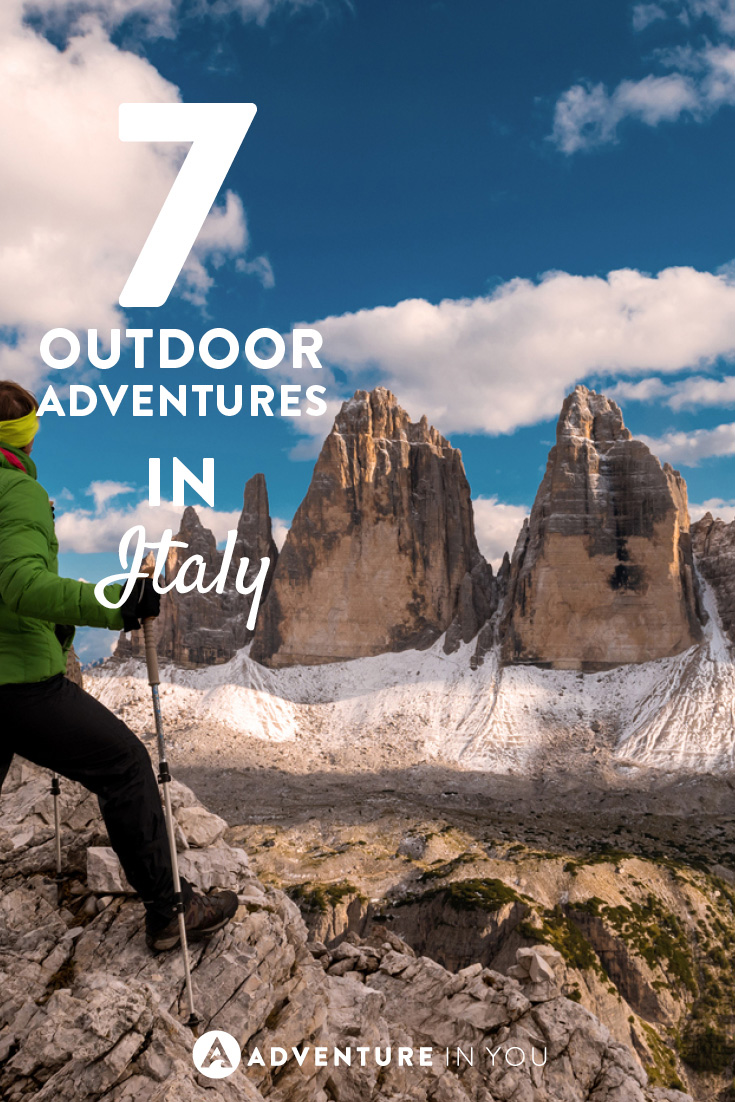 Calling all adventure lovers! Check out these 7 outdoor adventures in Italy
