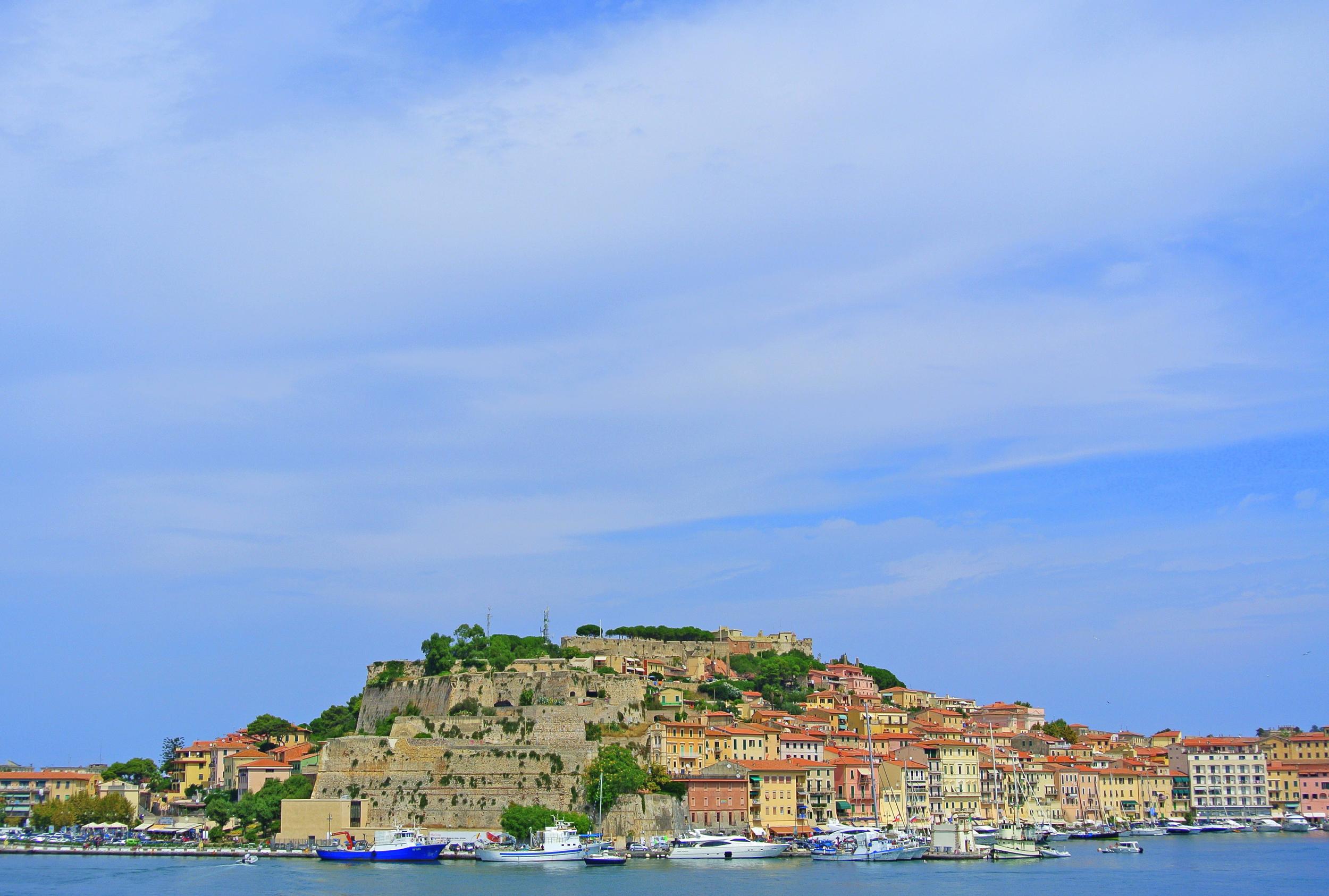 elba coastal town italy