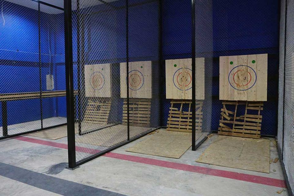 Axe throwing Venue bangkok