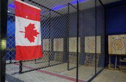 axe throwing canadian flag bangkok