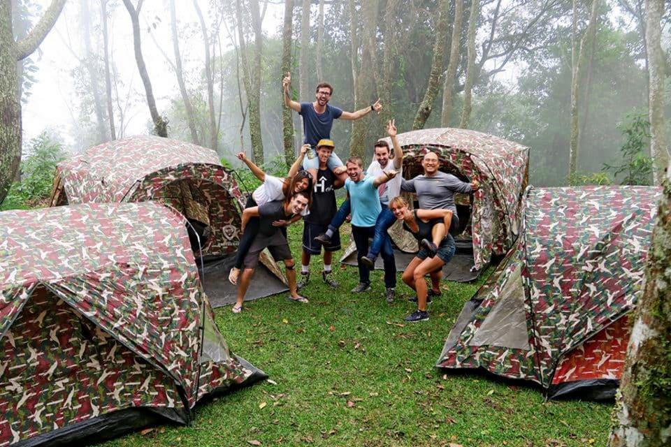 Camping-Doi-Pui thailand