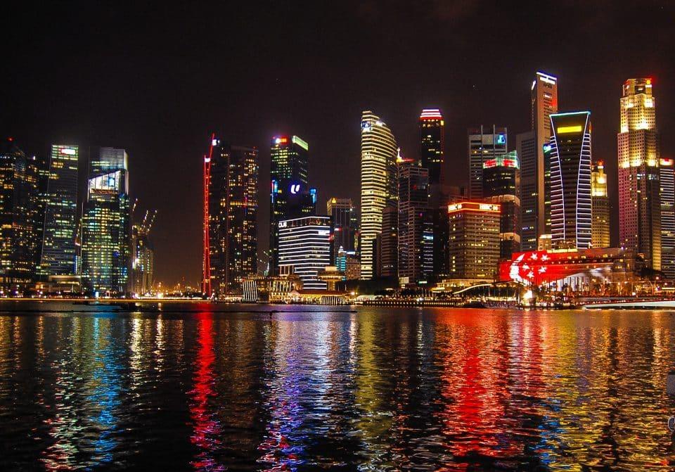 singapore fireworks bay