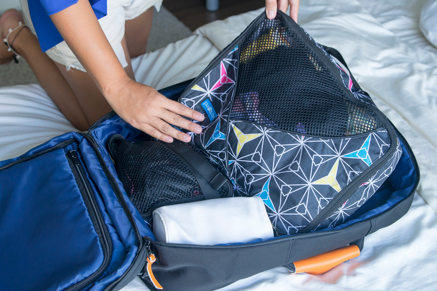 packing the carry on backpack standard luggage