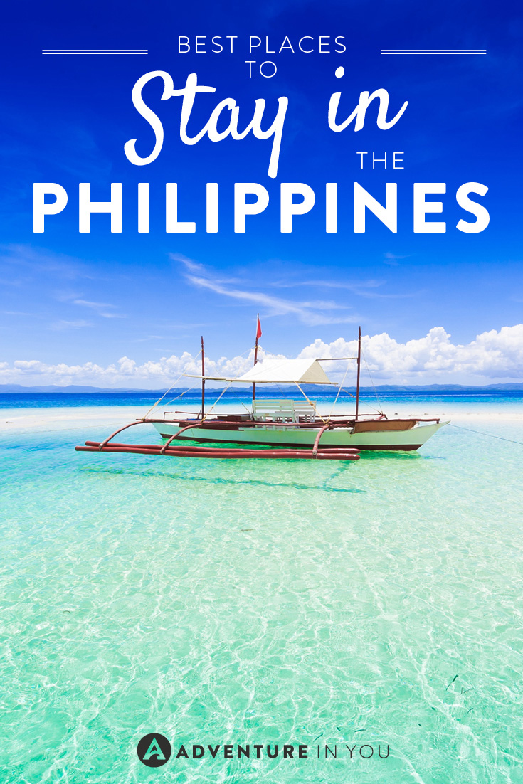 Whatever your budget, here are the best places to stay in the Philippines!