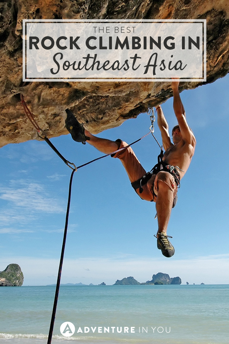 Love rock climbing? Here are the best places to do it in Southeast Asia