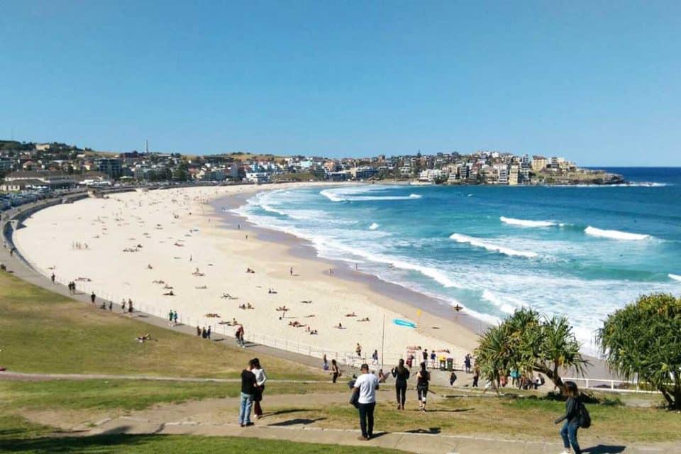 Australia Bondi Surfing Beach