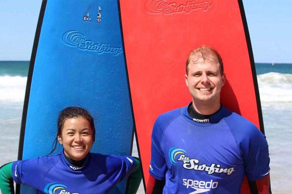 bondi surfing lets go surfing