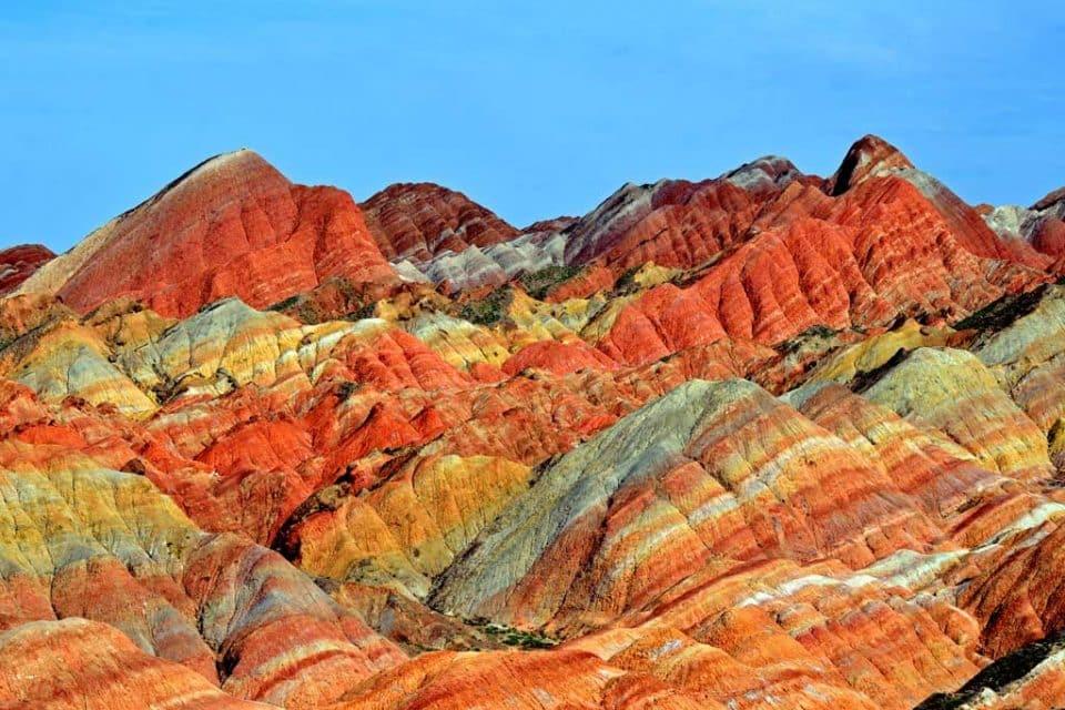 china rainbow mountain