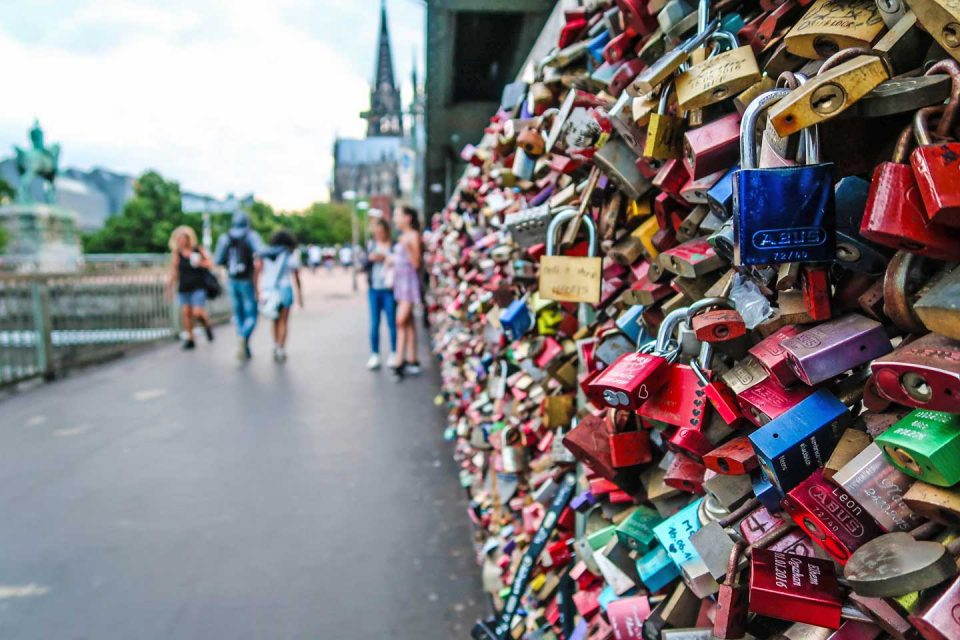 cologne love locks bridge