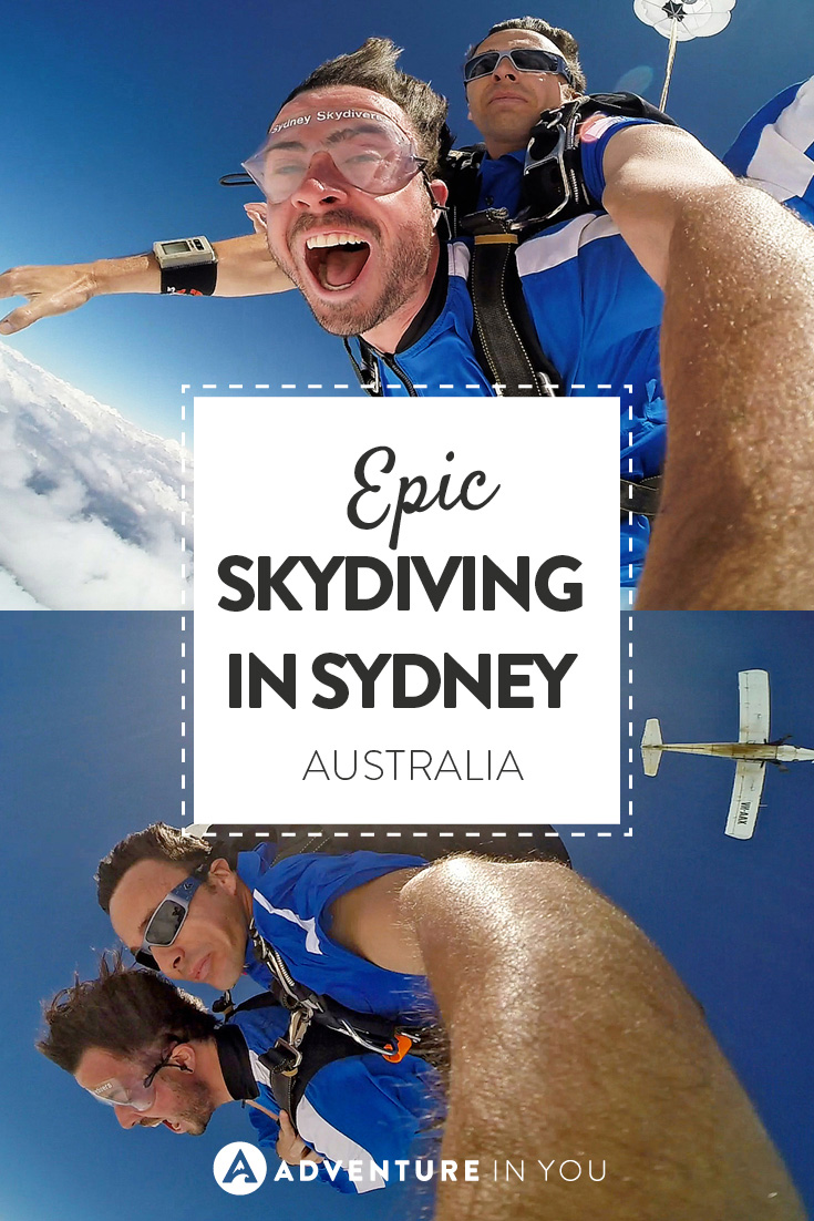 One of the most epic places to skydive is Sydney, Australia!