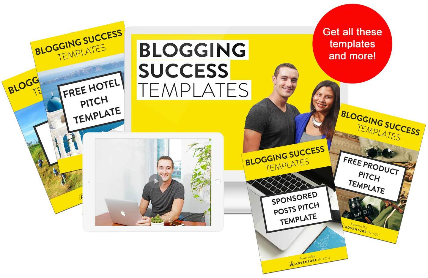Blogging Email Templates