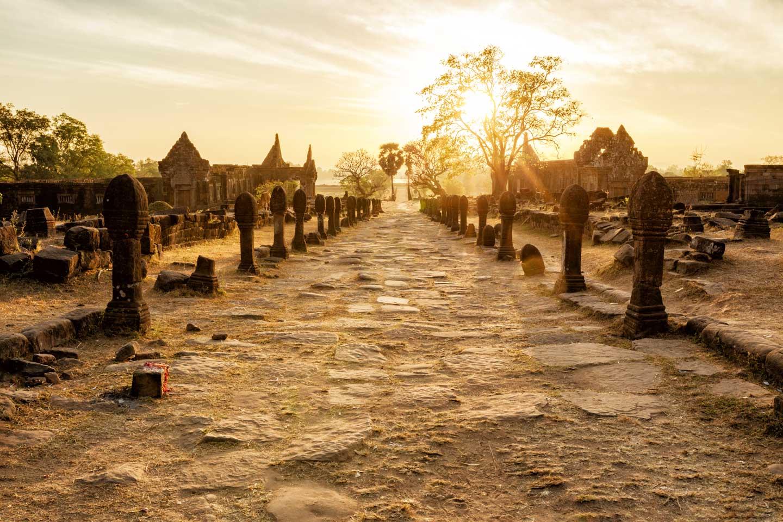 laos ruins