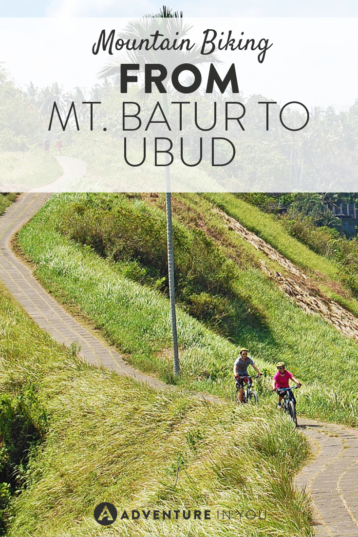 Looking for a fun active experience while in Ubud? Try biking from Mt. Batur back to town as you pass through stunning Indonesian scenery
