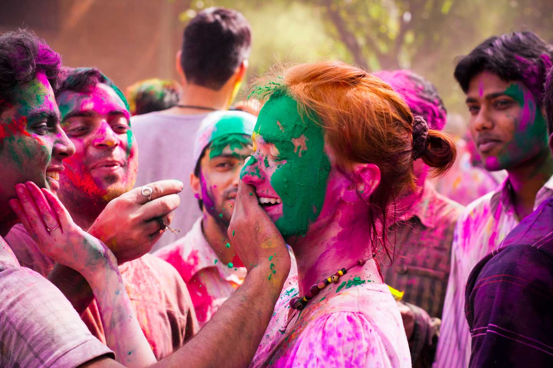 nepal holi festival