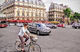 paris biking