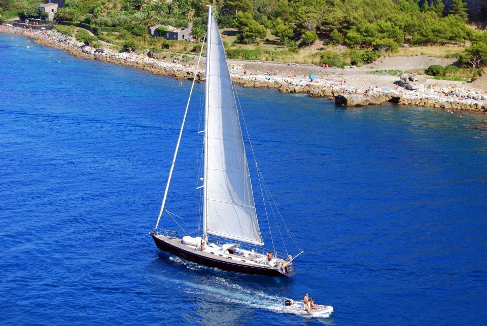sailing italy amalfi