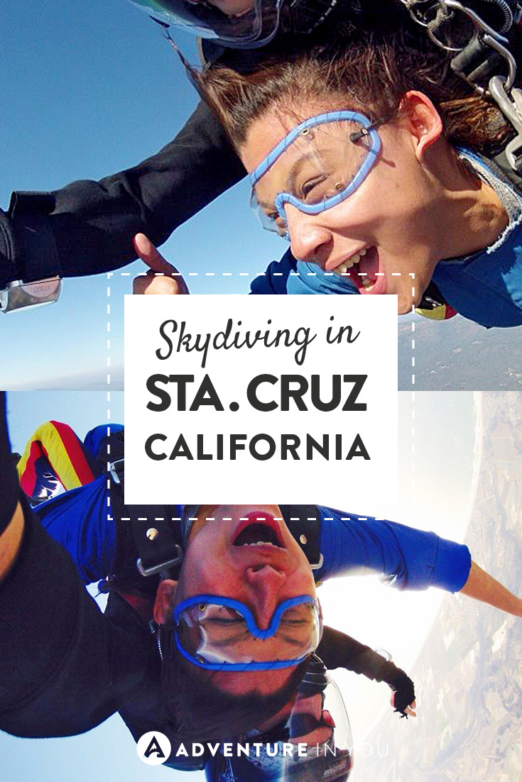 One experience you have to have in California is skydiving!