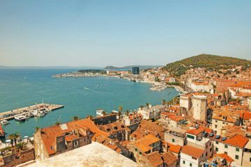 split croatia view