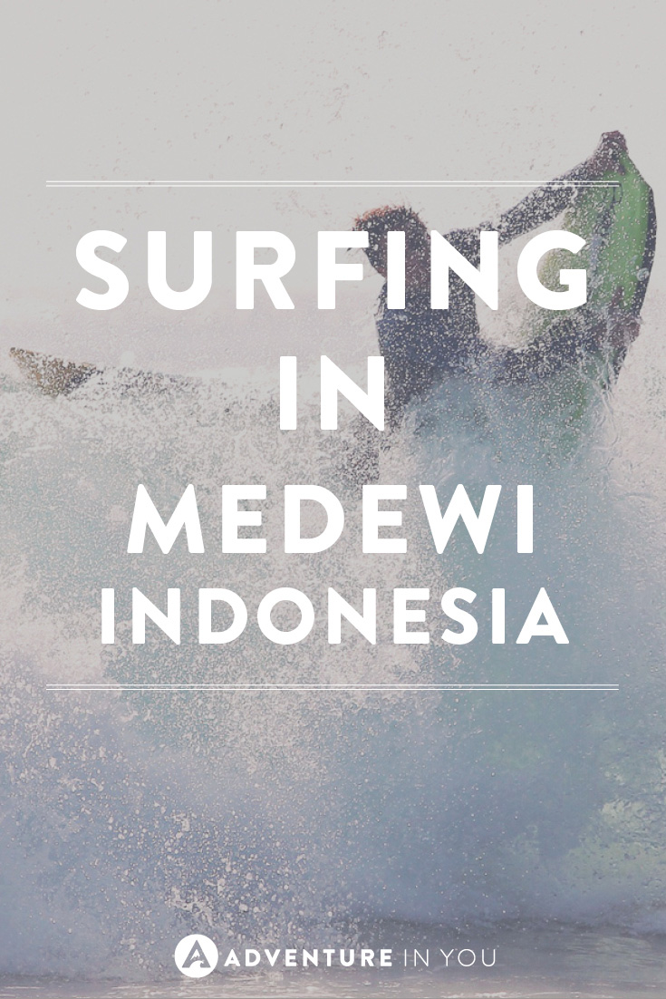 Looking for an awesome surf spot in Bali? Check out the waves in Medewi, Indonesia and Get Stoked!
