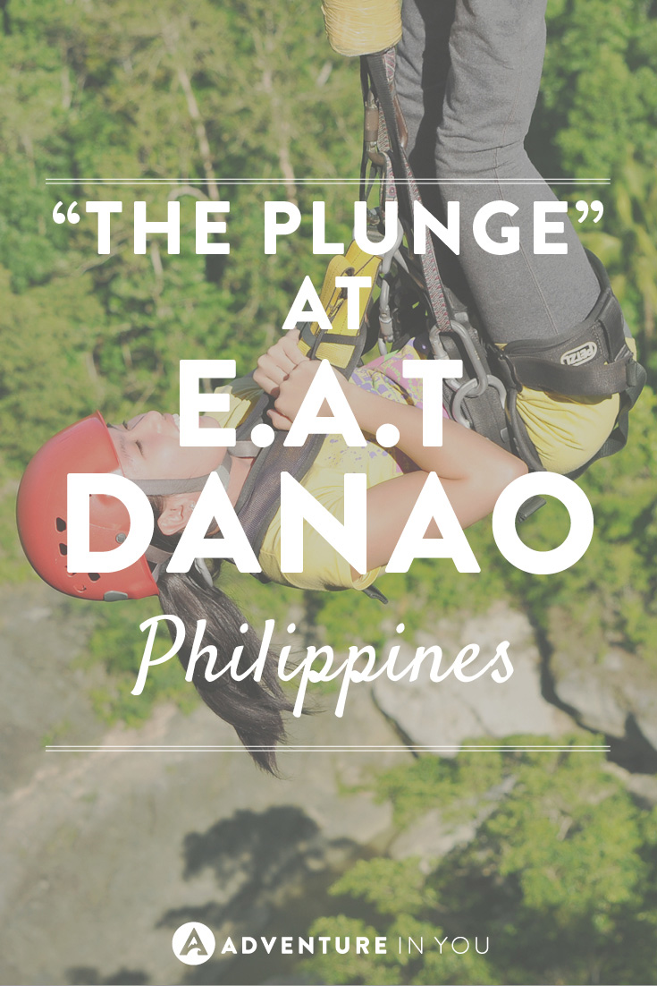 One experience you have to have in the Philippines is the Plunge!