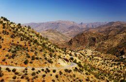 Anti Atlas mountains in Morocco