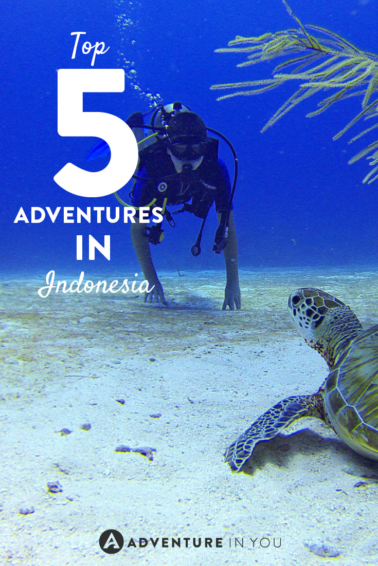 Heading to Indonesia? Make sure you don't miss out on doing these top 5 adventures!