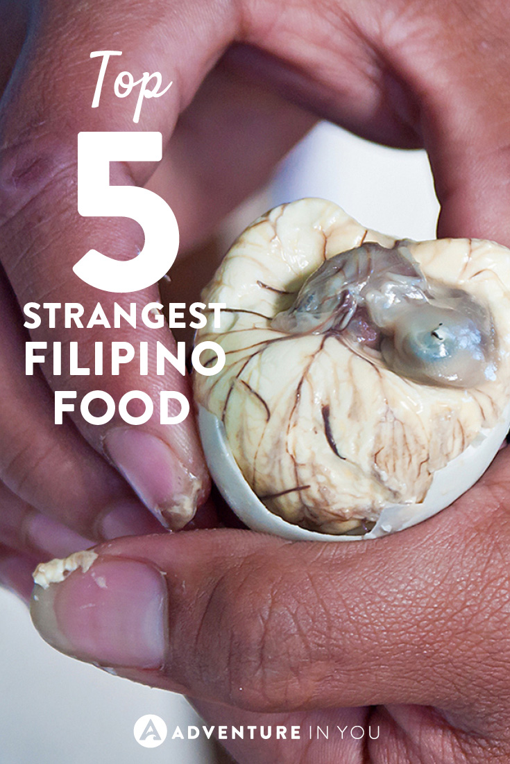 If you think you've seen strange food before, check out these Filipino delicacies!