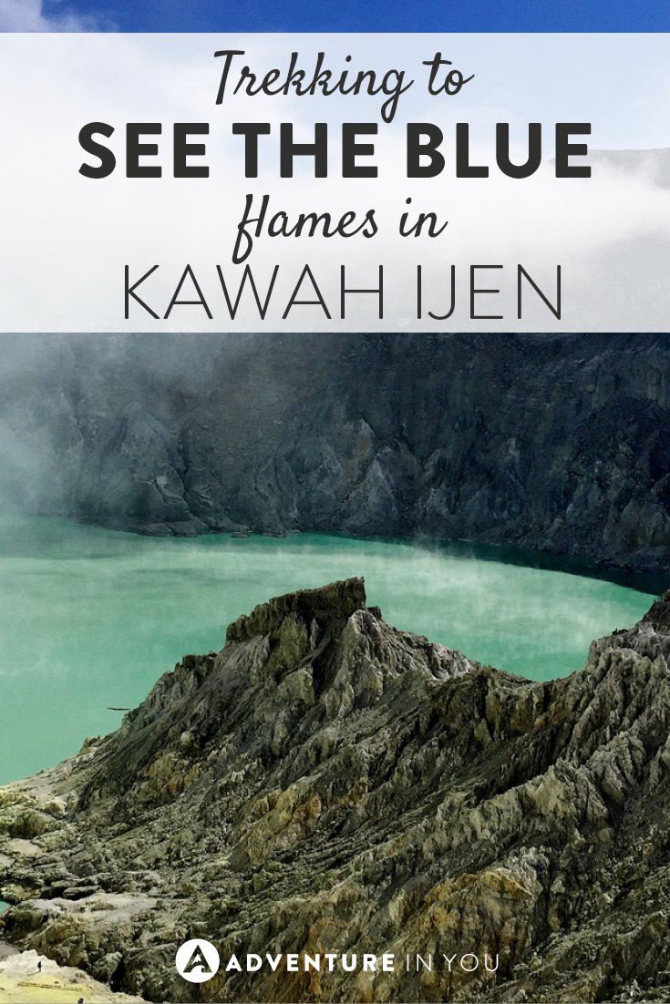 One experience you have to have in Indonesia is trekking Kawah Ijen!
