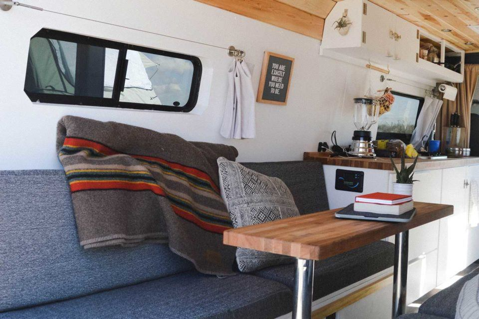 Van life interviews from our vantage for Our life in the kitchen