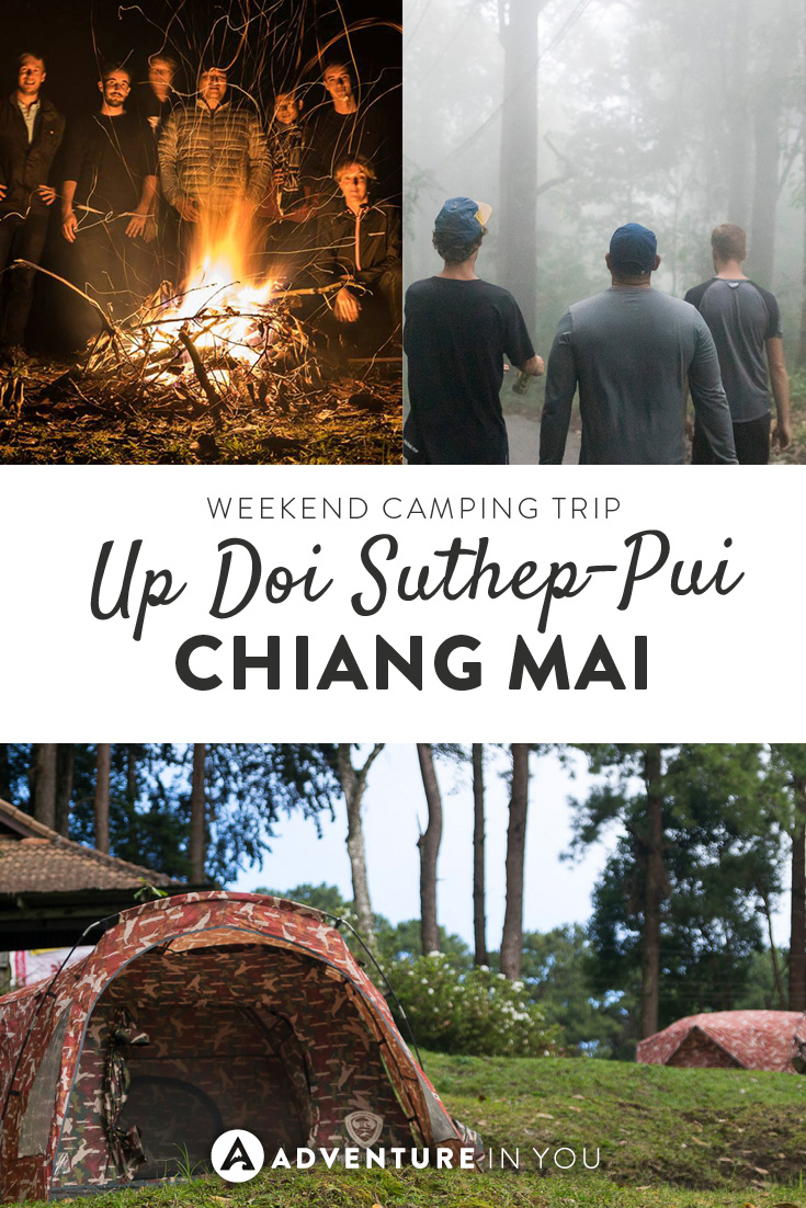 Planning a trip to Chiang Mai, Thailand? Consider going on a camping trip up in the mountains!