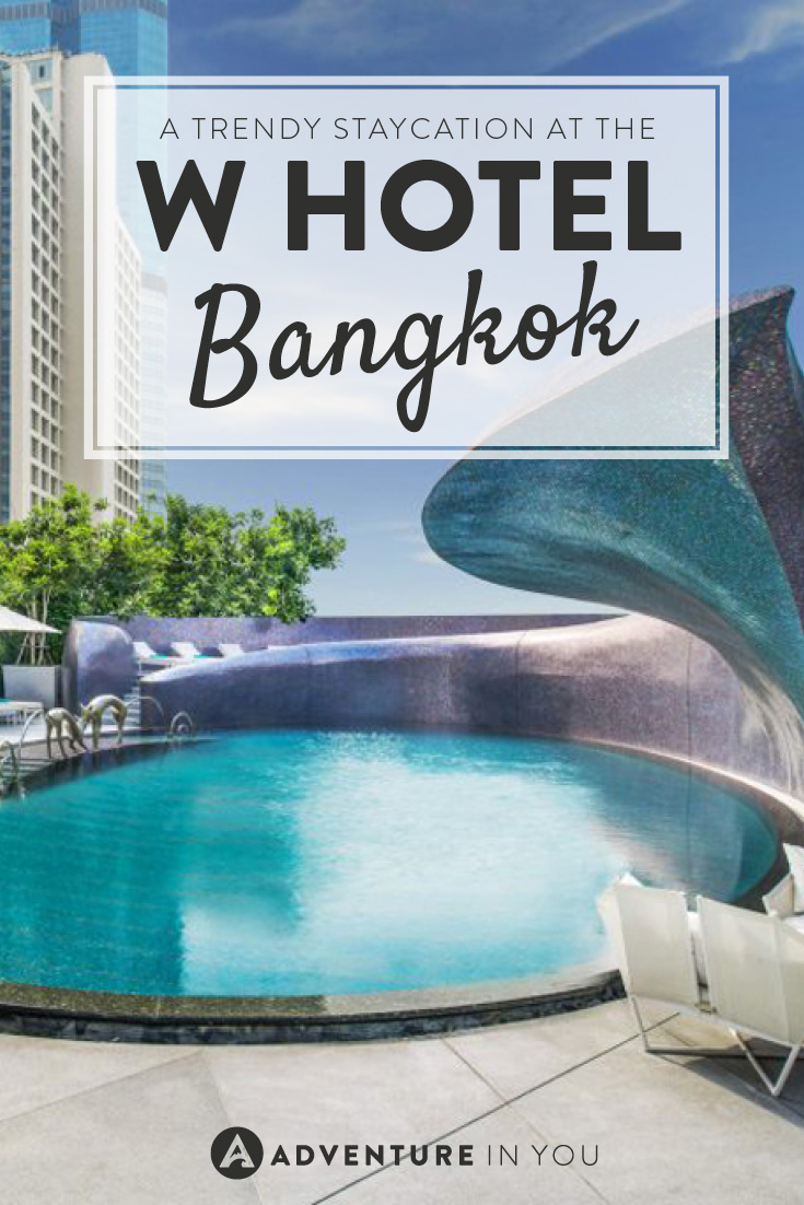 Read about our experience staying at the trendy W Hotel in Bangkok