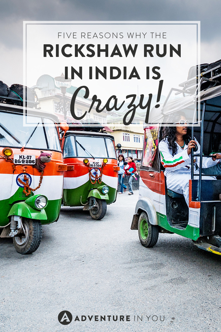 Want to do something crazy? How about joining the rickshaw run in India?